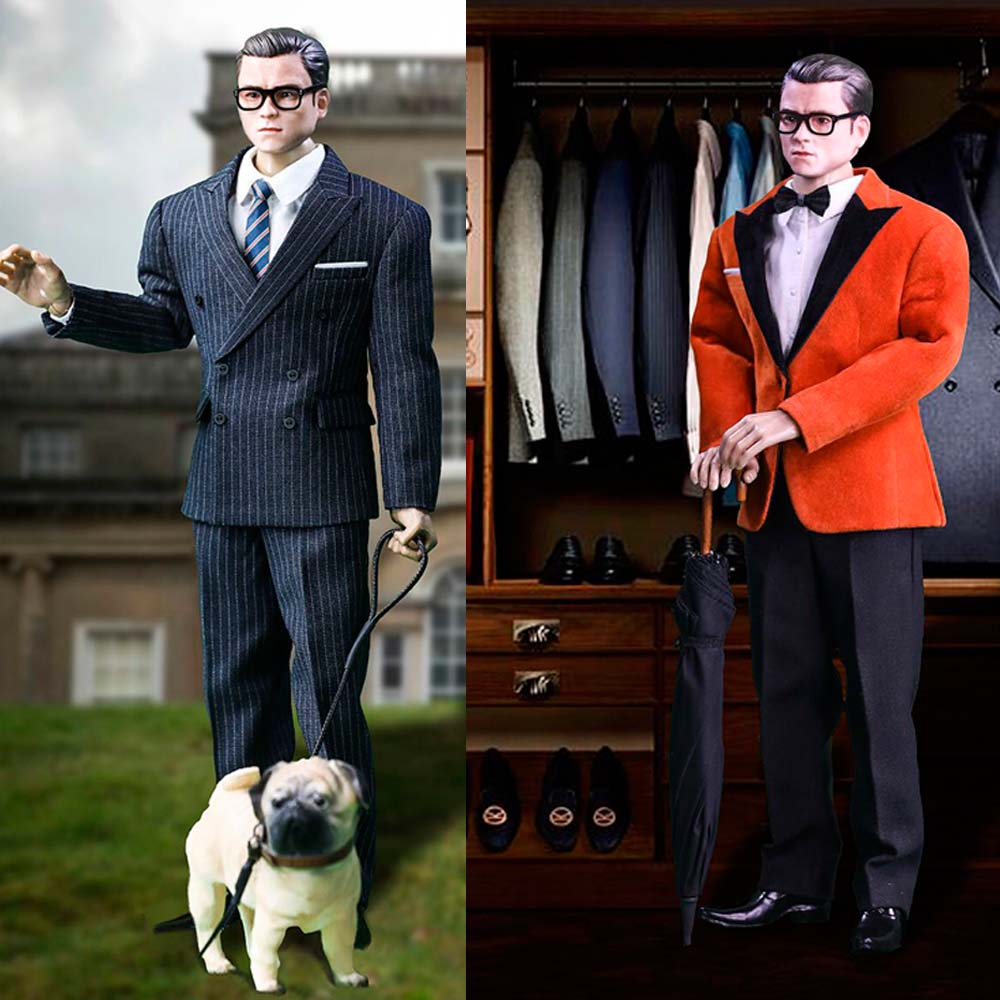 1//6 Toy center CEN-M06 The Agent Solider Suit Clothes/&Dog Model Set Fit M30 Body