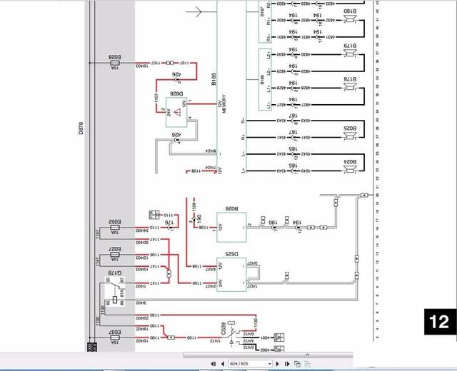 DAF Full Set Shop Manual Daf Lf Wiring Diagram on