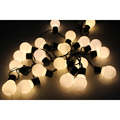 20 LED 16ft/5m Globe String Lights Warm White Ball Fairy Light for Garden Party Christmas Wedding New Year