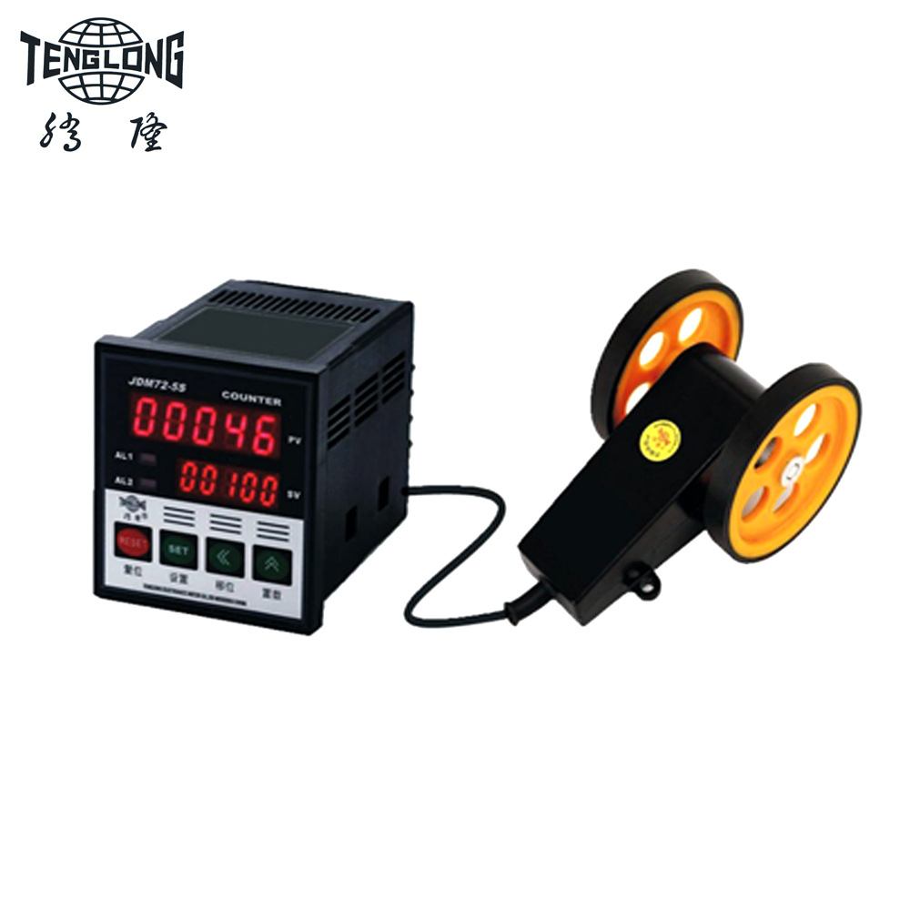 Cable Length Measuring Equipment : Length measuring and cutting equipment cable meter counter