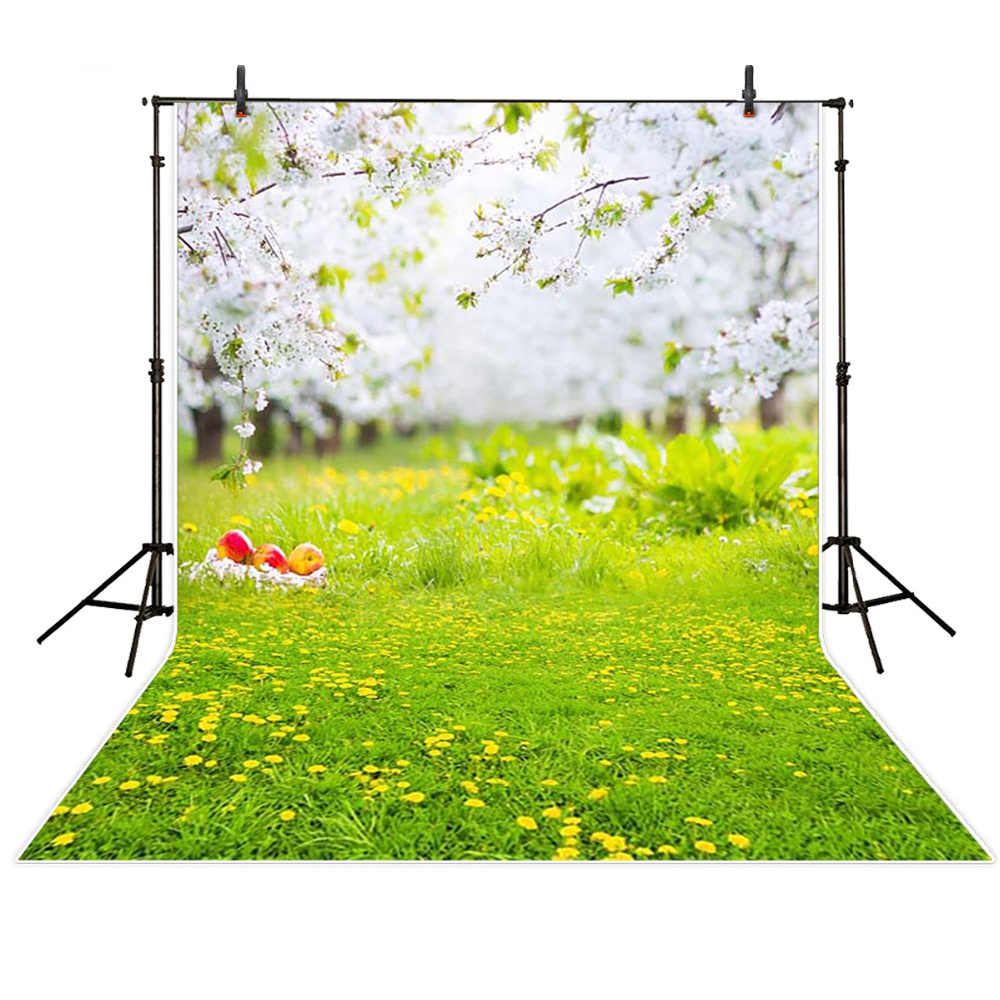 Spring Scenic Photography Background Cloth Vinyl Backdrops For Photography Children Backgrounds For Photo Studio Fotografia free scenic spring photo backdrop 1875 5 10ft vinyl photography fondos fotografia photo studio wedding background backdrop