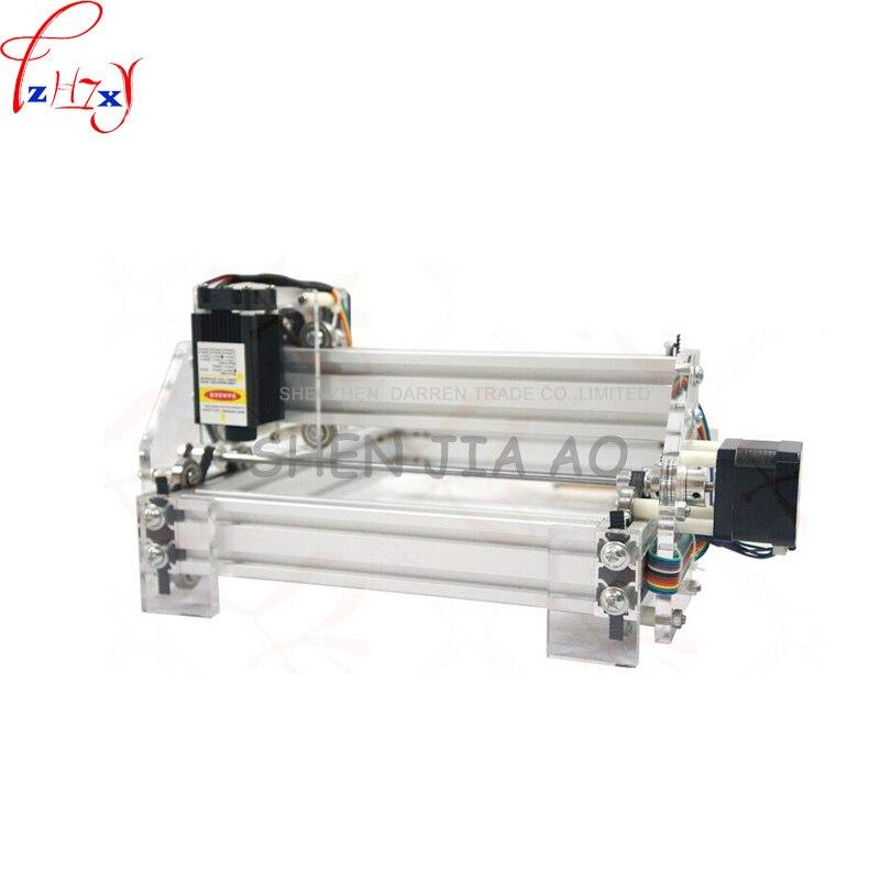1 шт. 1,5 Вт DIY мини лазерная гравировальная машина 1500 МВт Настольный DIY Лазерный гравер гравировальный станок изображение CNC принтер DC12V - 3