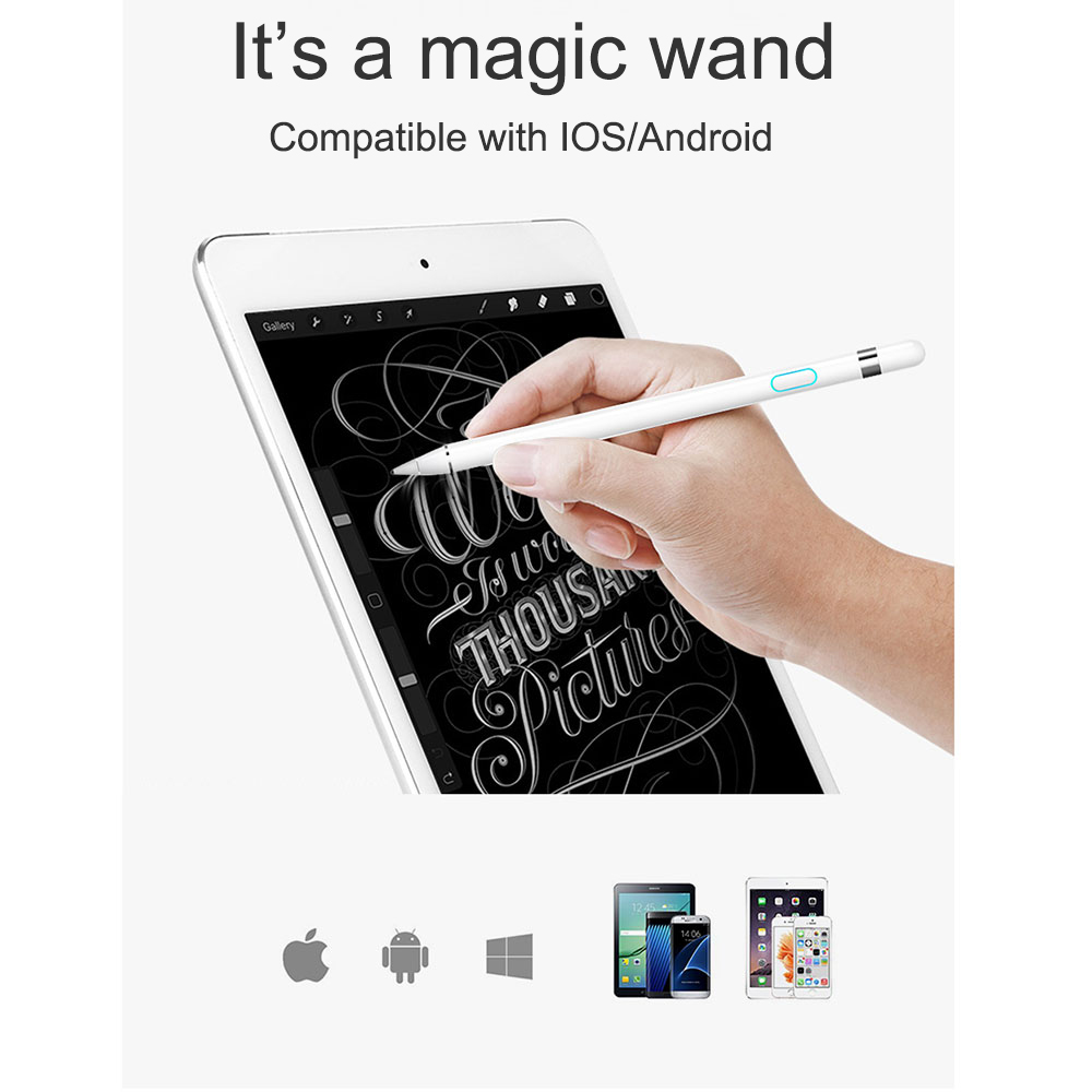 WIWU Pencil Tchnology Touch Screen Pen Stylus Pencil For Apple iPad & iPad Pro Apple ios and Android system apple mk0c2zm a pencil для ipad pro white