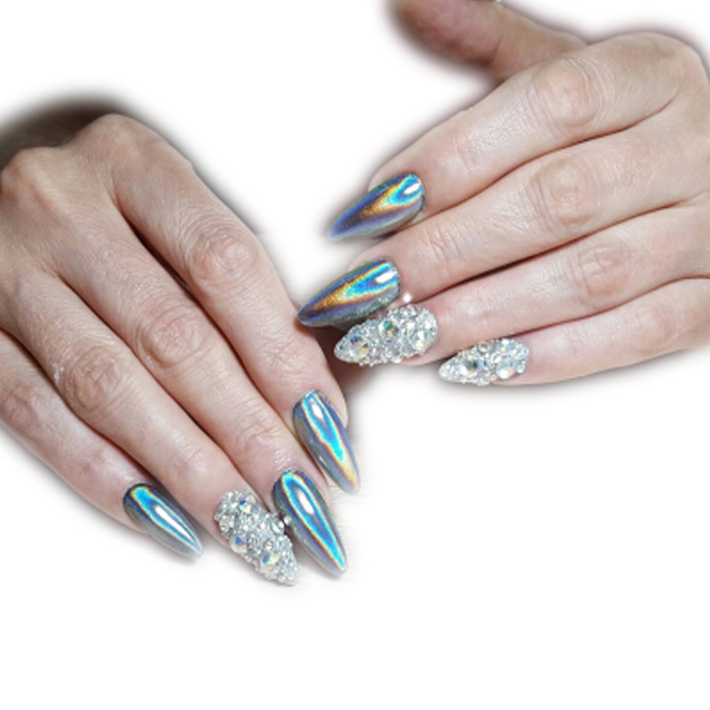 Enchanting Nail Art Glitter Dust Powder Component - Nail Art Ideas ...