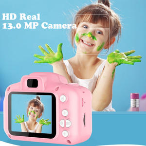 Camcorder Digital-Camera Hd-Screen Kids Mini Switching Shooting Timed Language Rechargeable