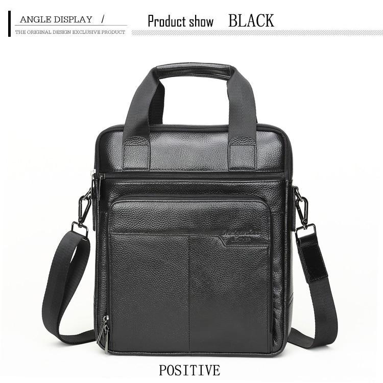 HTB13TGbt5CYBuNkSnaVq6AMsVXap MEIGARDASS Genuine Leather Business Briefcase Men Travel Shoulder Messenger Bags Male Document Handbags Laptop Computer Bag
