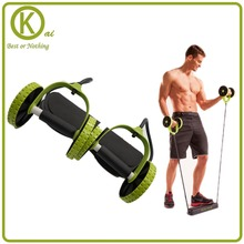 Integrated Fitness equipment spring exerciser Double wheel  AB machines for the home interior sport adjustable