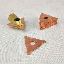 Washer Hook Triagne Dent Puller Electrode Chuck Dent Pulling Stud Welder Spot Welding Spotter Triangle Pad Kit
