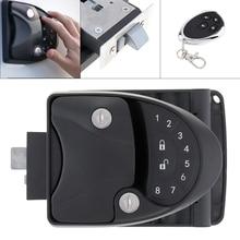 3 In 1 RV Lock Keyless Handle Password Integrated Keypad Remote control & Key Fob Trailer Hitch