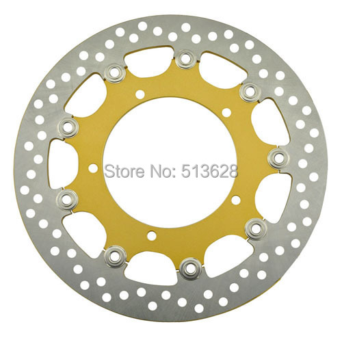 ФОТО Motorcycle Front Brake Disc Rotor Fit For YAMAHA R1 YZF-R1 1000 YZFR1 YZF R1 2007 2008 07 08 NEW