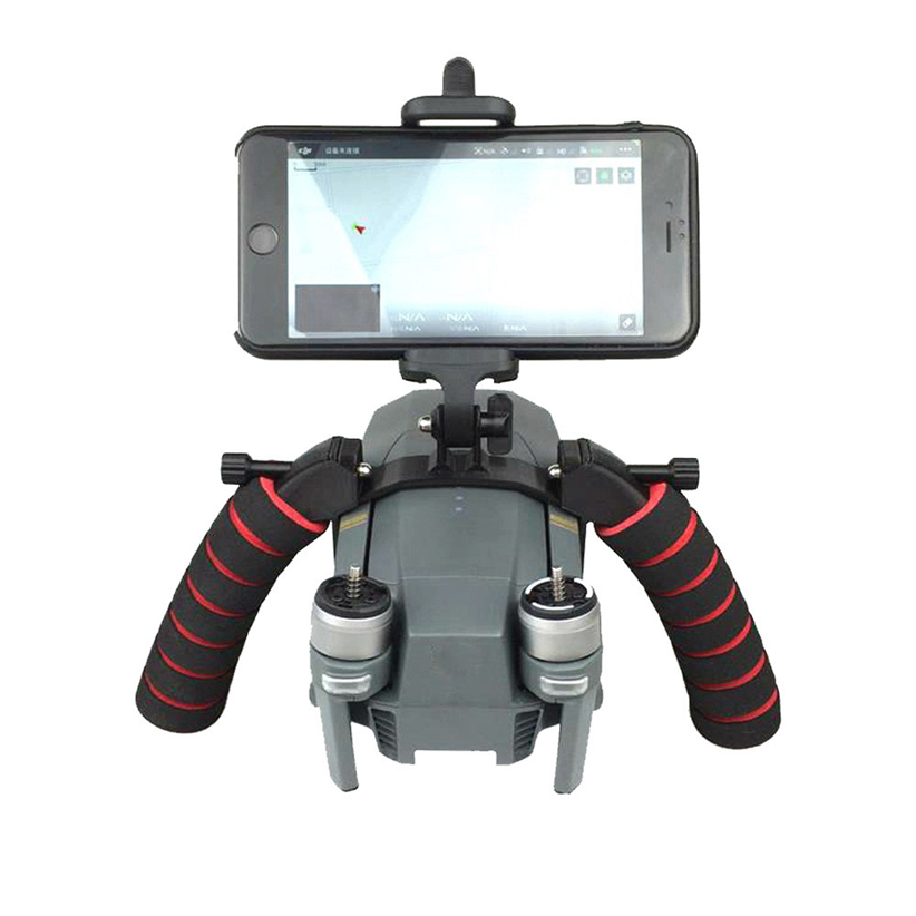 3D Print Handing Buckle Gimbal Holder Bracket Handheld for DJI MAVIC PRO RC Drone Futural Digital
