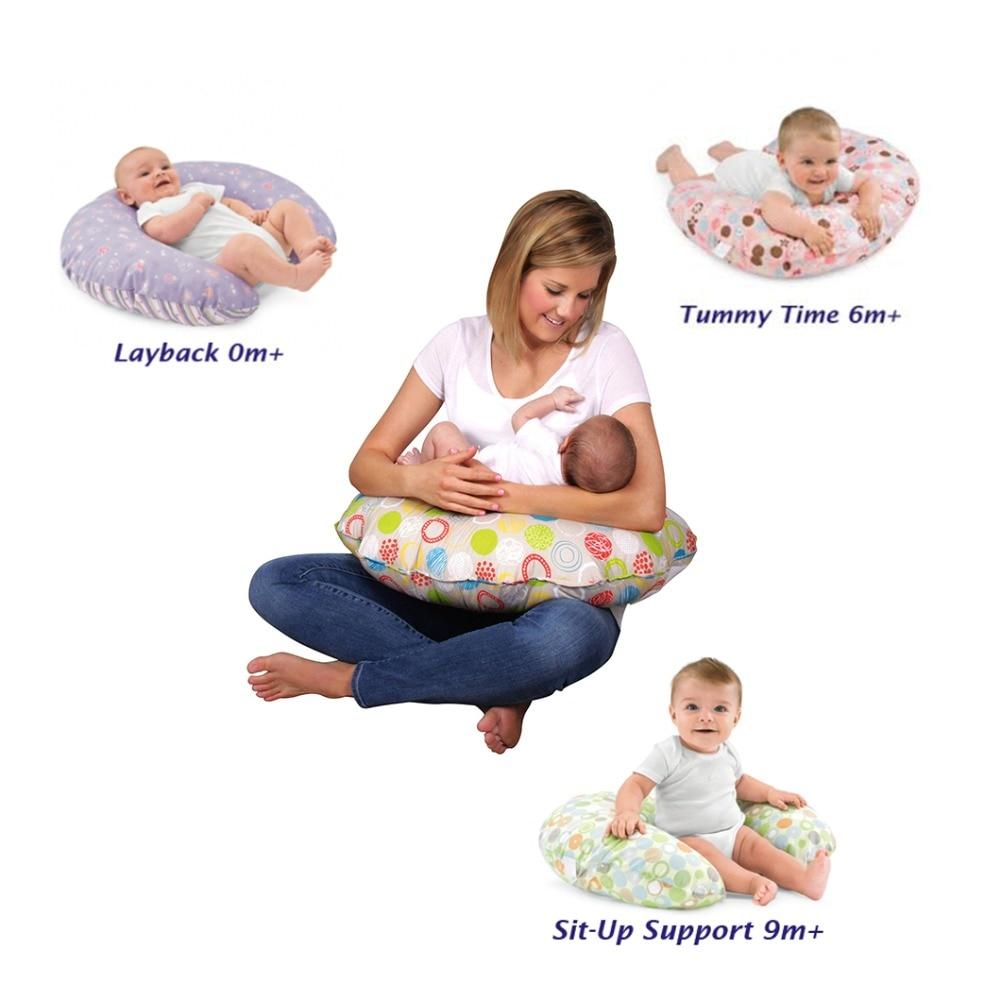 Breastfeeding Pillow Nursing Breast Feeding Newborn Infant Support Maternity New