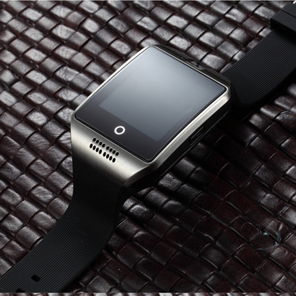 Original Q18 Bluetooth Smart Watch Men With Touch <font><b>Screen</b></font> <font><b>Big</b></font> Battery Support TF Sim Card Camera <font><b>smartwatch</b></font> for Android Phone ios image
