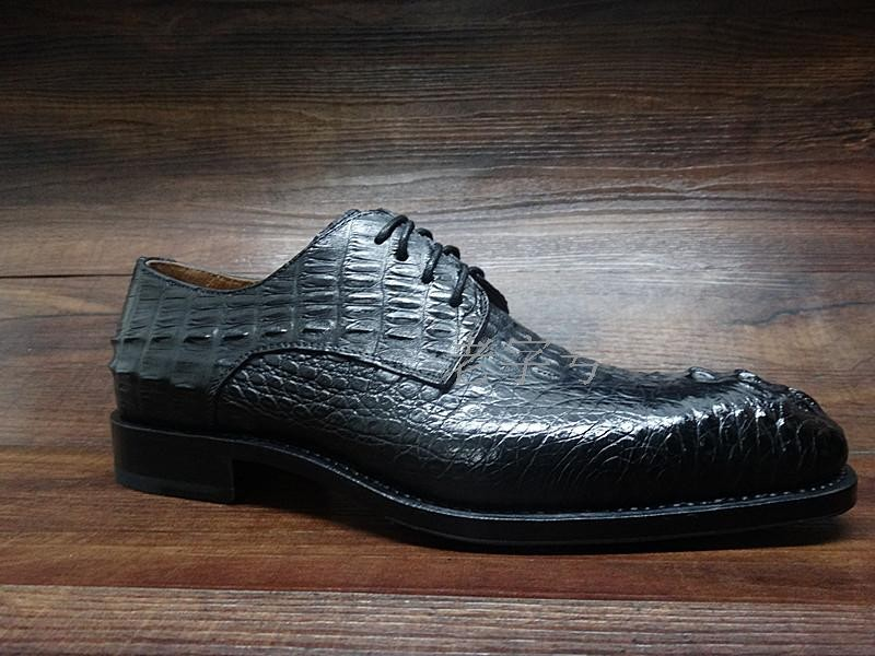 Men's Shoes Shoes Useful Sipriks Mens Alligator Skin Shoes Male Croscodile Dress Shoes Goodyear Welted Shoes Italian Custom Boss Black Tan Leather Shoes