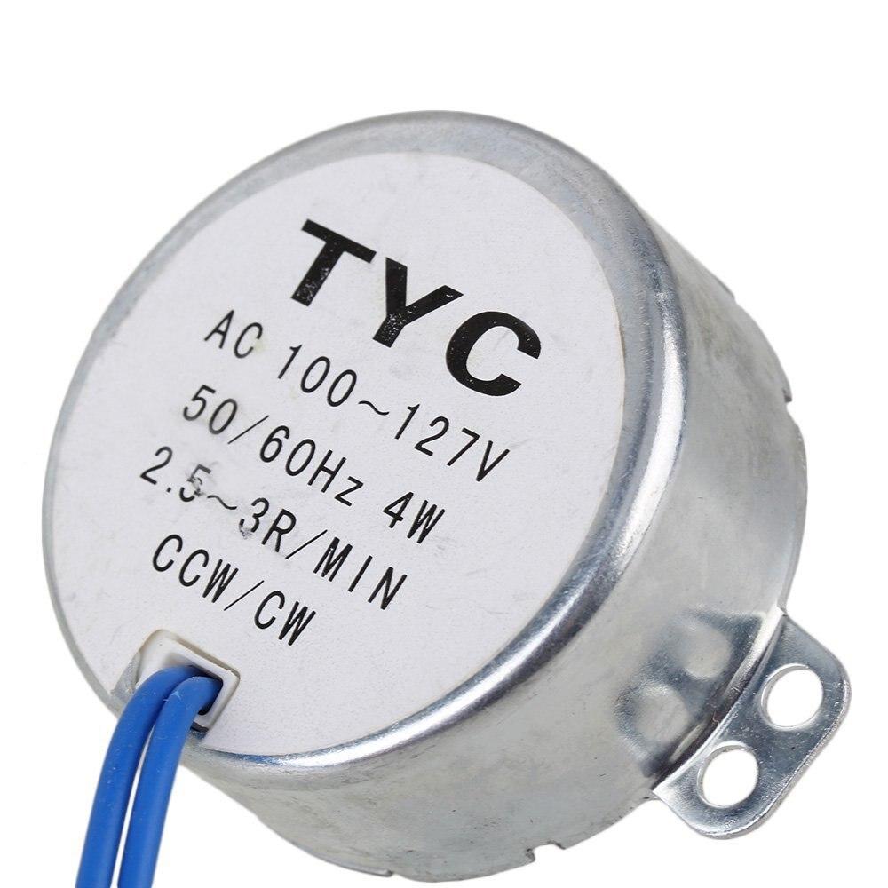 TYC50 220V 2.5-3rpm AC reduction gear motor//Micro motor// geared motor