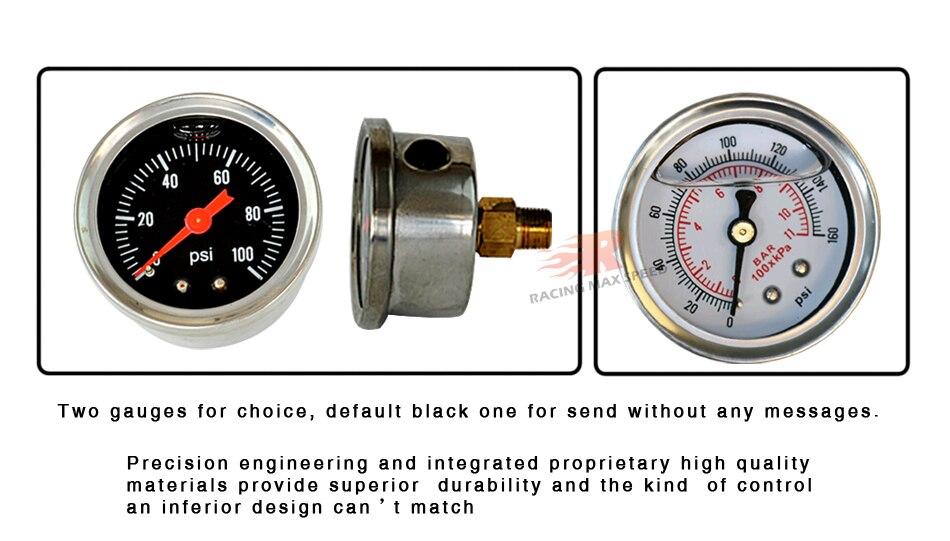 regulador com mangueira do calibre óleo encaixe