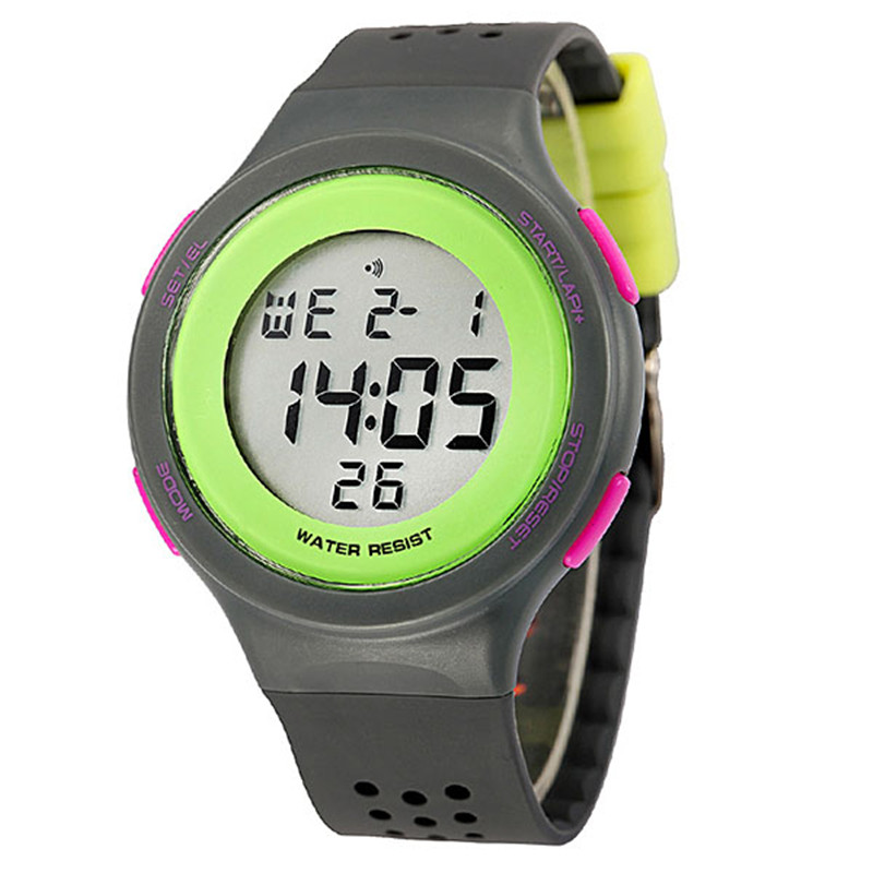 Fashion Colorful Waterproof Kids Boy Girl Watch LED Digital Sports Watch Wristwatch Jelly Rubber