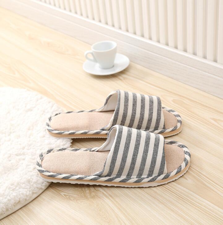 2019 Men Slippers NV8 9 Slides Bottom Indoor Plush Flat Men Slippers Gray Brown Cotton Slippers