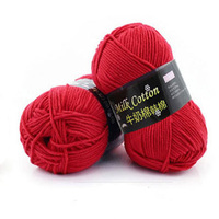 500g Lot Baby Milk Cotton Knitting Yarn Coarse Cashmere Crochet High Quality Wool Yarns Scarves Coat