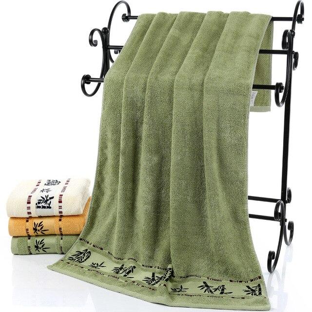 LYN&GY Super Soft Bamboo Fiber Bath Towel Brand for Adults toalhas de banho Large bathroom towels strandlaken 70*140cm 3 color