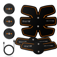 EMS Wireless Smart Abdominal Muscle Stimulator Electric Weight Loss Massager Sports Trainer Rechargable Body Slim Belt