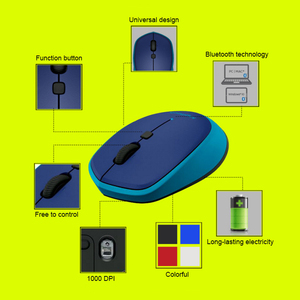 Image 5 - Logitech Original M336 Wireless Bluetooth Mouse with Colorful 1000 dpi for Windows 7/8/10,Mac OS X 10.8,Chrome OS,Android 3.2