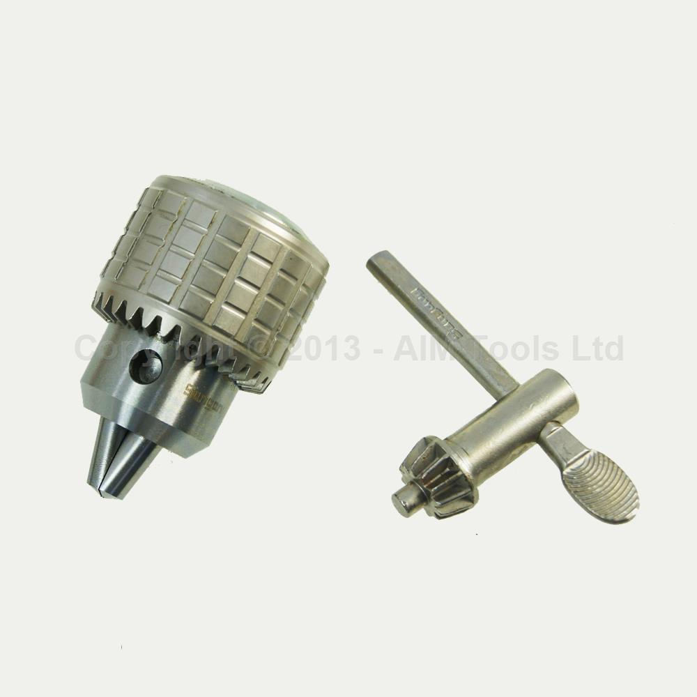 Heavy Duty Press Drill Chuck 1MM - 10MM B12 With Wrench дырокол deli heavy duty e0130