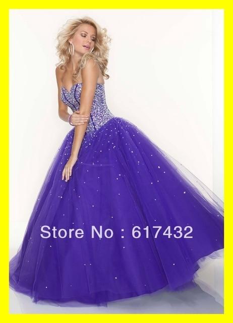 Princess Prom Dress Poofy Dresses Usa Strapless Last Minute Ball ...