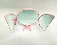 DI19 трехсторонний desktop складное зеркало предметы первой необходимости макияж инструменты зеркало