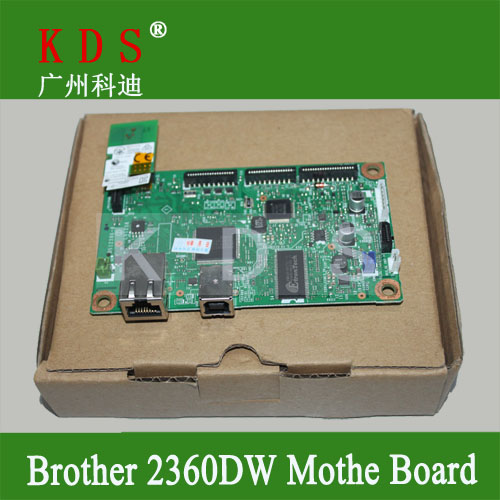 ФОТО Original Laser Printer Parts Mainboard for Brother HL2360DW Formatter Board LV1286001 Remove from New Machine