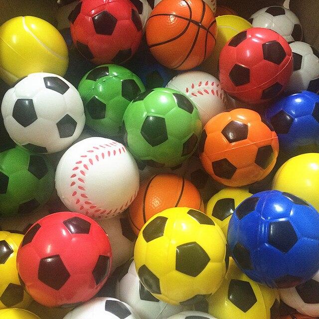 5b4999fc685fa 1 pc Macio Antistress Brinquedo Bolas De Futebol Bolha Futebol Bola  Brinquedos para Crianças Saltando Diâmetro