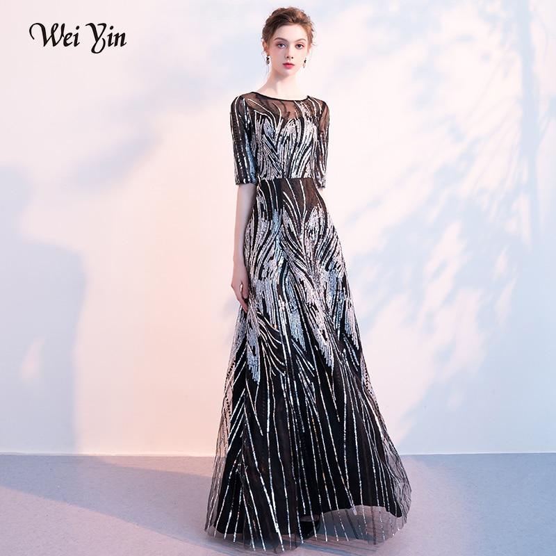 weiyin Women's Scoop Lace   Evening     Dress   Black Sleeveless Straight Floor Length   Dresses   Women Party Long Formal   Evening   Gown
