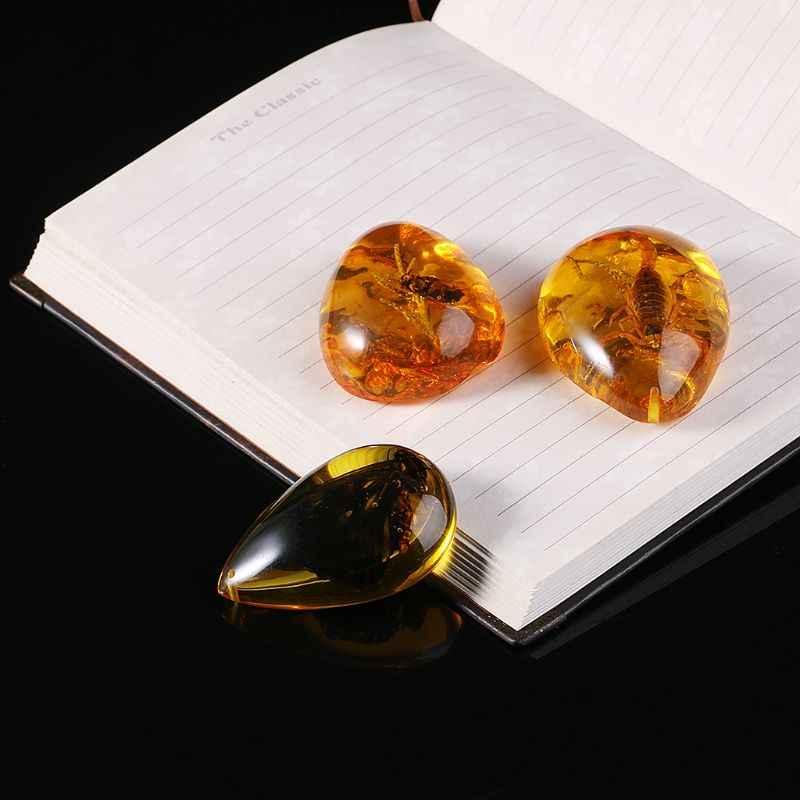 Piękny Amber Butterfly owady kwiat z kamienia wisiorek naszyjnik kamień do DIY biżuteria wisiorek rzemiosło