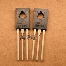 цена на 30pair/10pair Netherlands Original old BD139 BD140 TO-126 Audio power amplifier pair transistor free shipping