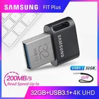 100% Original Samsung USB 3.1 Pendrive 32GB 64GB up to 200MB/ Memoria usb flash Drive 128GB 256GB up to 300MB/s usb memory stick