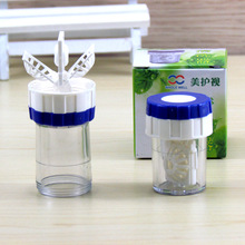 Fashion Manual rotation type Contact Lens Washer Cleaner Cle