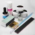 Professional Full Set  Nail Art Set  Manicure Tools with Nail Art Acrylic Powder Pen Brush