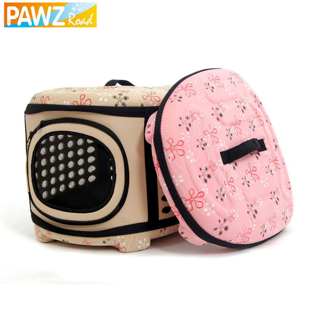Hot Selling Pet Dog House Portable Dog bed  Multicolor Printing Dog Package Folding Puppy Cat Backpacks Pet Packaging
