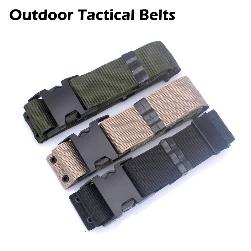 High Quality Outdoor Self-defense Armed Tactical Belts Military Equipment Nylon Belts Security Patrol Hunting Sports outlife new style professional military tactical multifunction shovel outdoor camping survival folding spade tool equipment