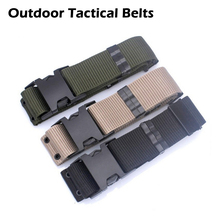High Quality Outdoor Self-defense Armed Tactical Belts Military Equipment Nylon Belts Security Patrol Hunting Sports