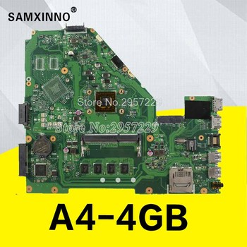 For ASUS X550EP original X550E X550EA X552E X552EA motherboard X550EP board A4 processor 4 g memory on board Tests ok