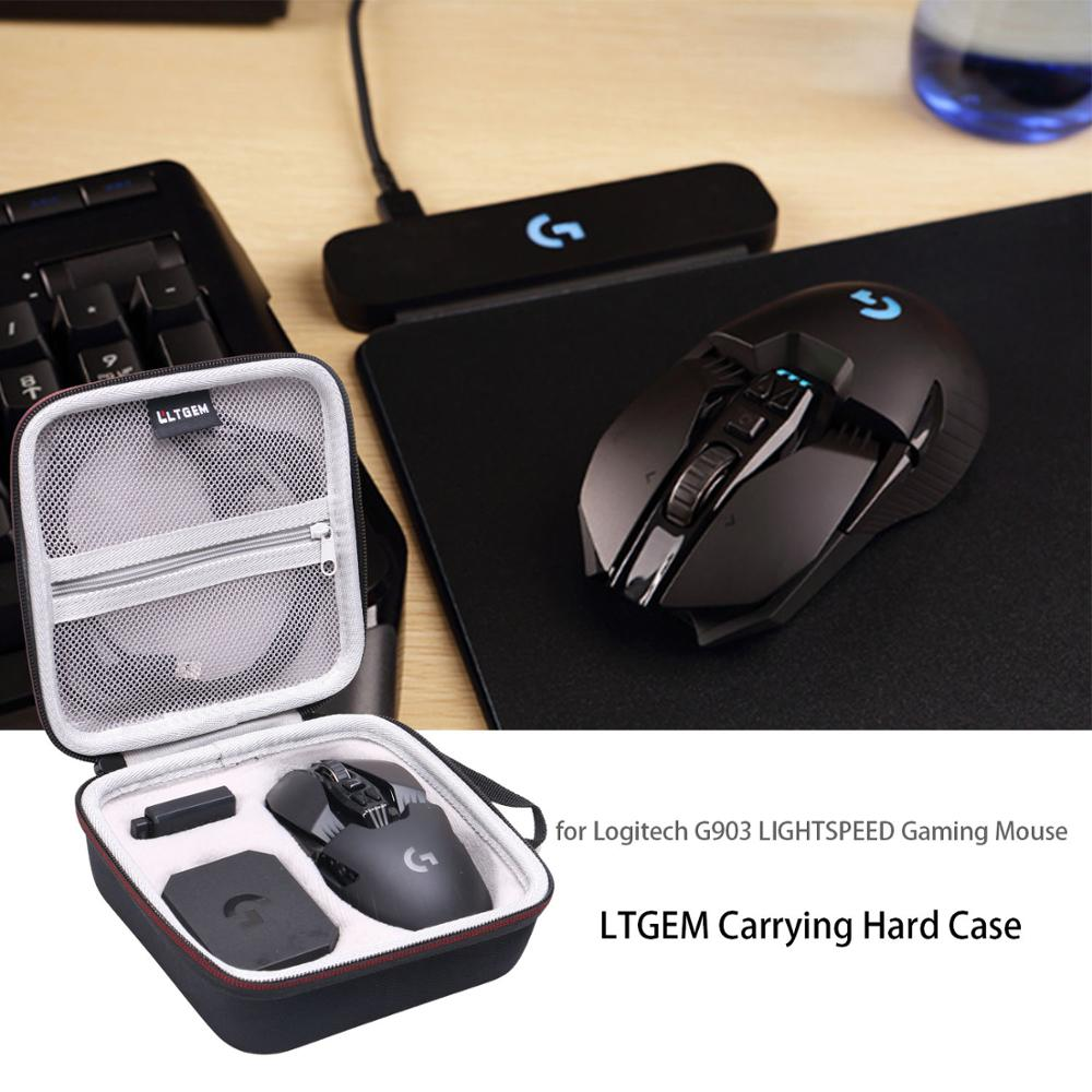 LTGEM EVA Hard Carrying Case For Logitech G903 / G900 Lightspeed Gaming Mouse