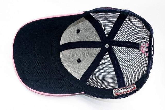 8173cab6a9f79f Online Shop LA female models summer paragraph baseball cap mesh cap ...