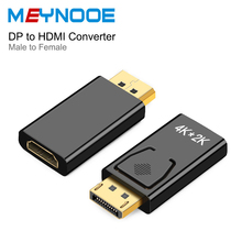Display Port DP Displayport male to HDMI Female Extension Adapeter HDMI Switcher Splitter 4K HDMI Extender Converter for HDTV PC