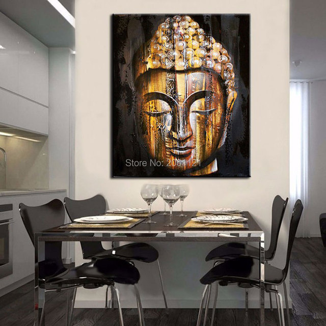 Tear of Buddha painting Religion wall canvas art