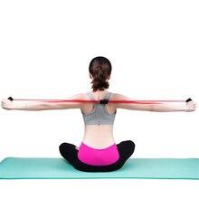 цена 1 pcs 8 Resistance Bands Shaped Fitness Elastic Yoga Pull Rope Exercise Tubes Chest Harness Expander Rope Fitness Elastic Band онлайн в 2017 году