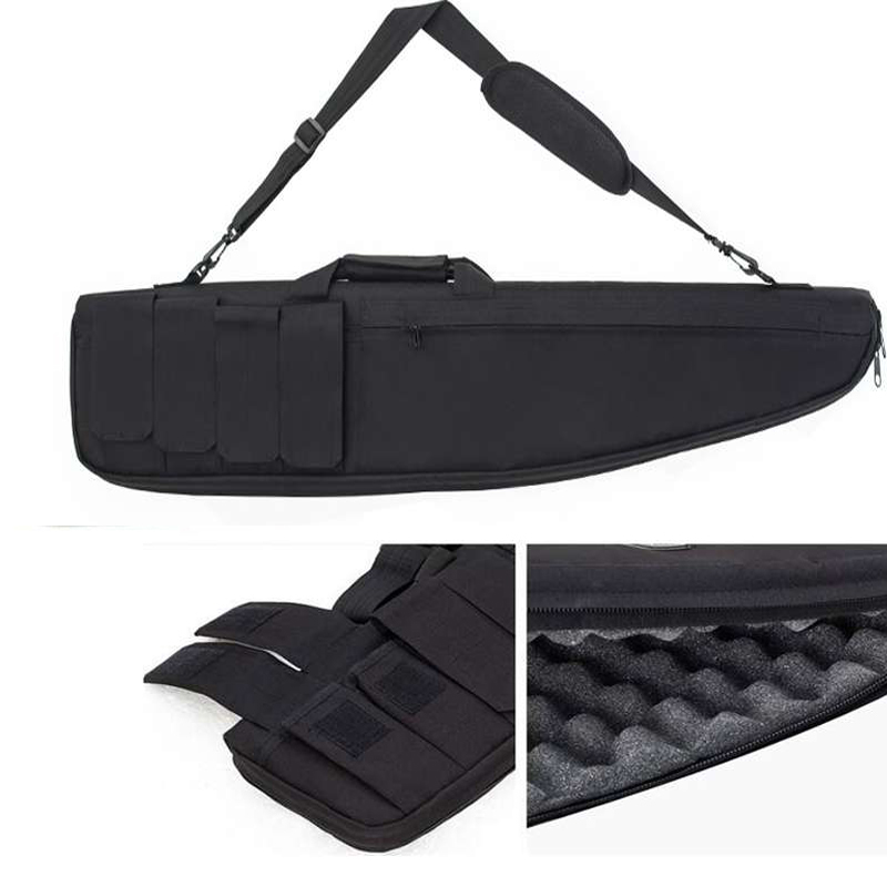 Tactical Hunting Bags Nylon Shooting Airsoft Rifle Carry Protection Single Shoulder Bags Witn Cushion Pad About 98cm