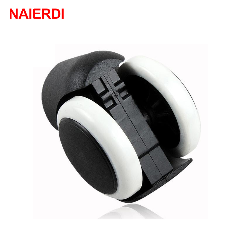 NAIERDI 5pcs 50KG Universal Mute Wheel 2 quot Replacement Office Chair Swivel Caster Rolling Roller Wheels Furniture Hardware in Casters from Home Improvement