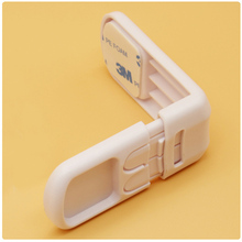5pcs Infant Toddler Drawer Door Cabinet Cupboard Double Buckle Safety Lock Baby Kids Child Safety Protection from children 9556