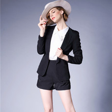 J43984 Fashion New Arrival Black Women Blazer High Quality Ofiice Lady Business